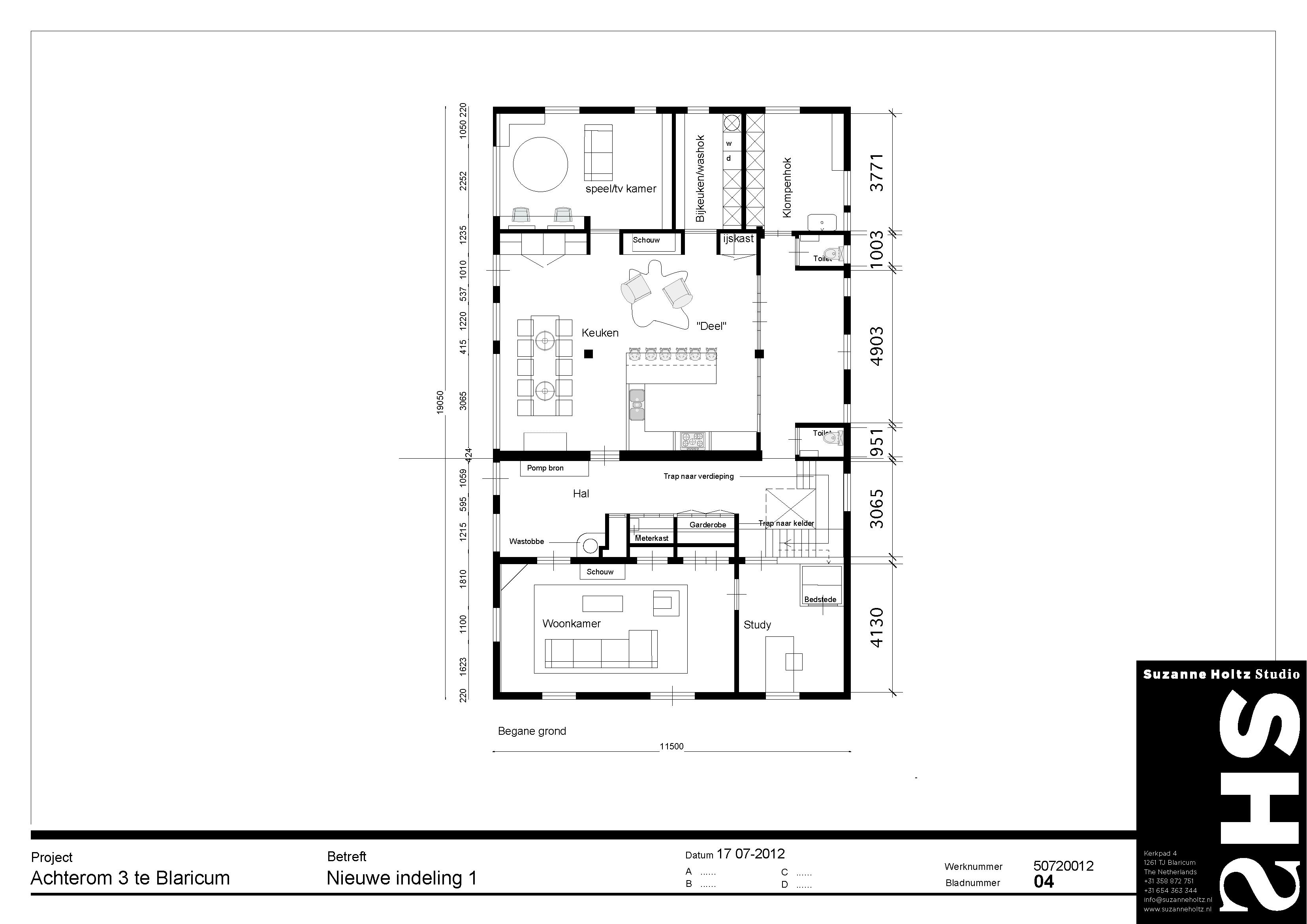 17072012 nieuwe indeling optie 1 presentatie page 2 - Studio indeling ...