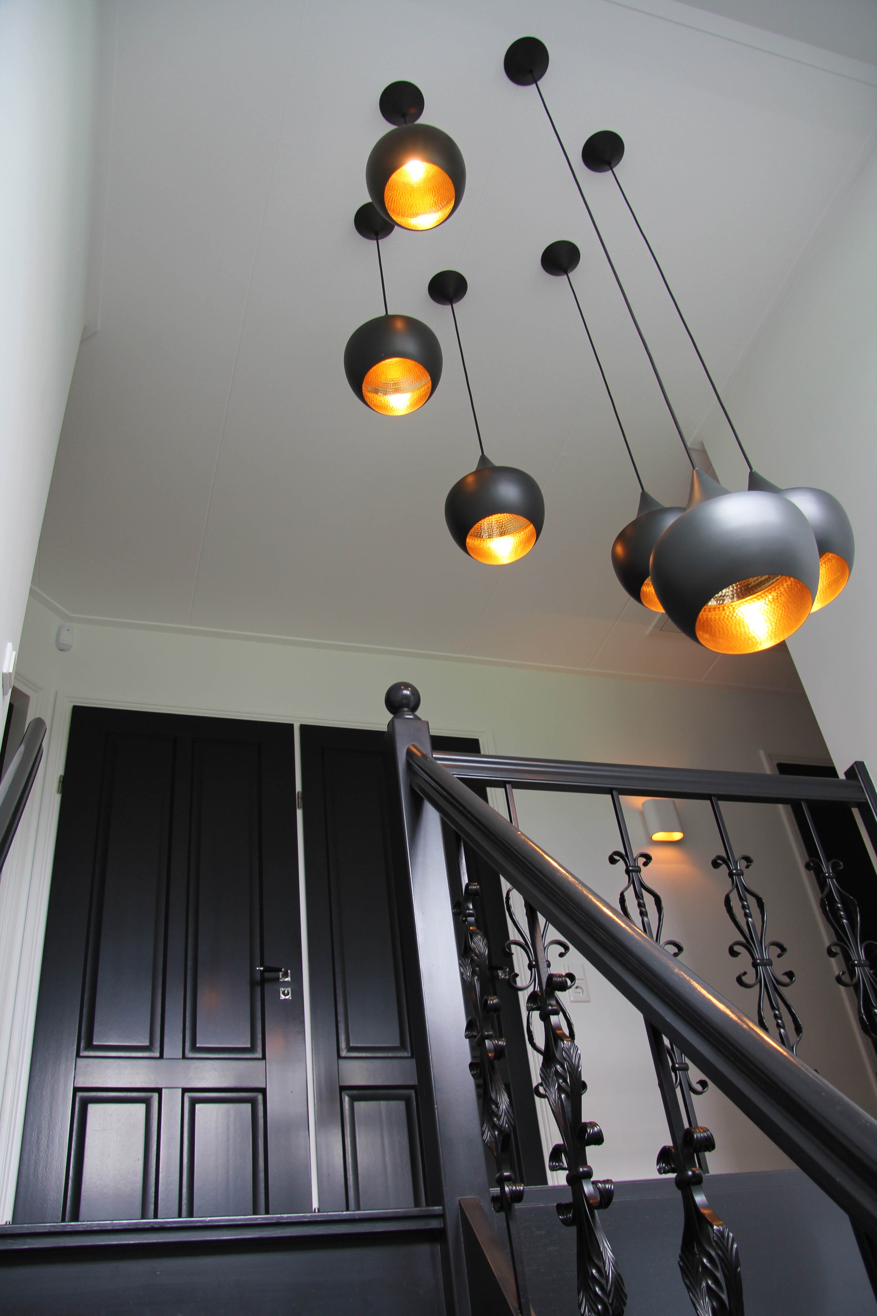 Villa westeinde oosthuizen suzanne holtz studio for Behang trapgat