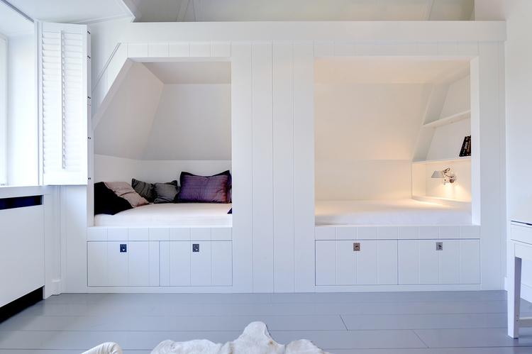 Interieurontwerp kinderkamers indeling en kleurgebruik en opbergen - Kinderkamer kleur ...