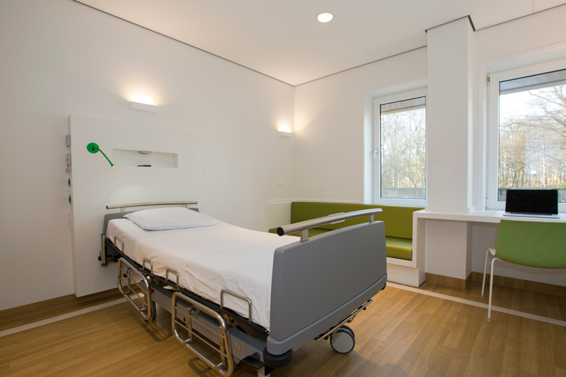 SH studio interieurontwerp Medisch Psychiatrische Unit radboudumc