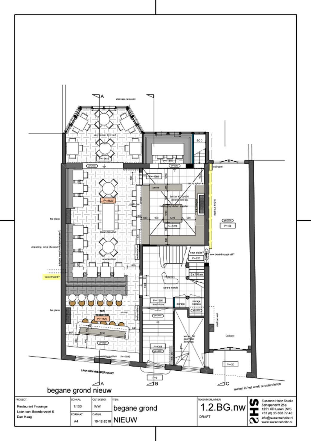 Villa-Coucou indeling