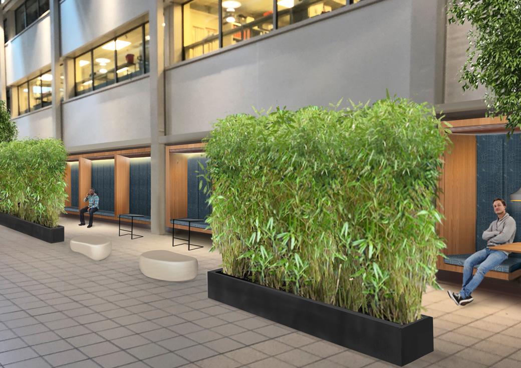 SHS ontwerp hal Antoni van Leeuwenhoek ziekenhuis